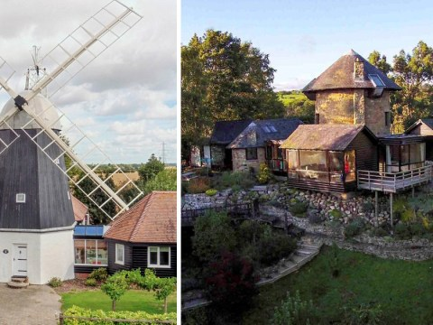 You could own one of these two windmills for sale in the UK