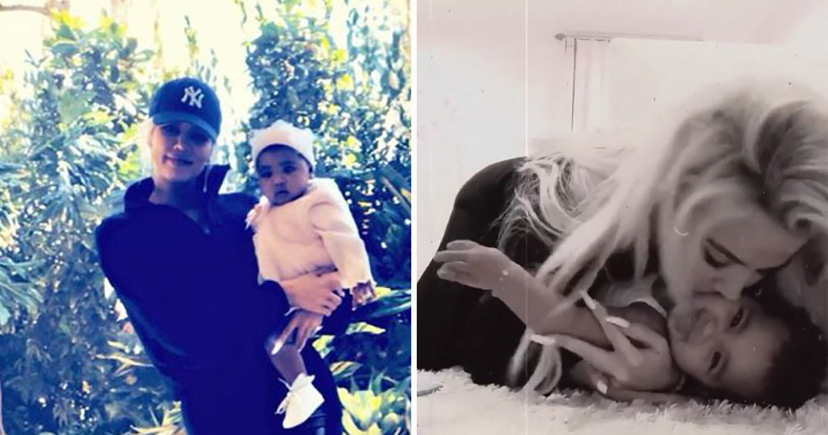 Khloe Kardashian's True is perhaps the cutest baby that's ever existed
