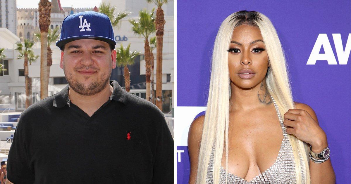 Rob Kardashian's girlfriend Alexis Skyy slams critics and insists she really 'loves' him