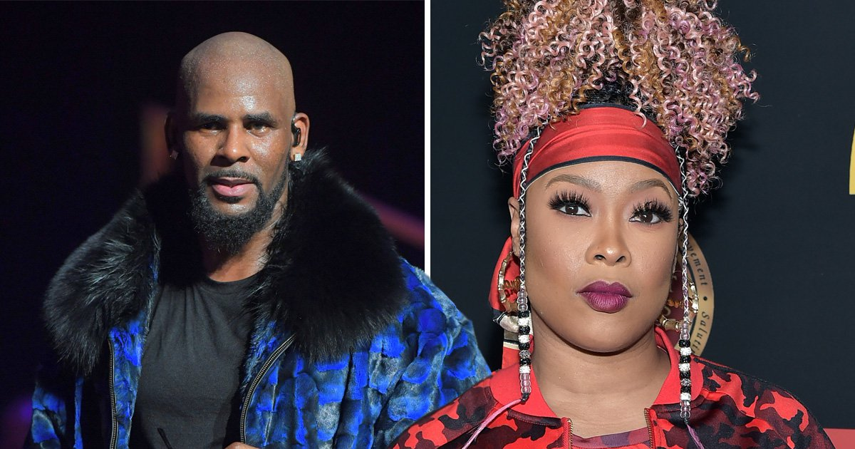 Da Brat defends 'family' R Kelly and asks: 'Where are the parents?' amid sex abuse allegations