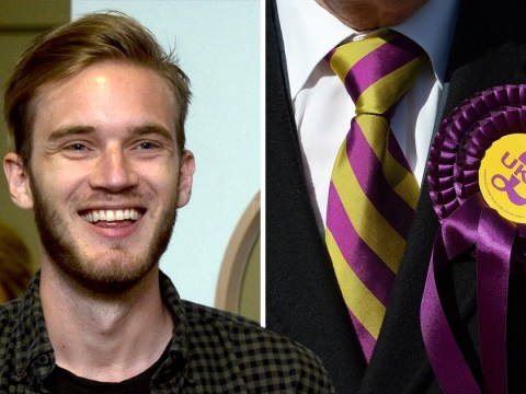 Ukip declares it 'stands with PewDiePie' and urges followers to subscribe over T-Series