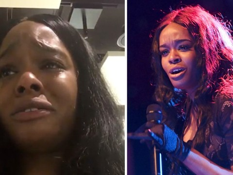 Azealia Banks in tears after removing herself from Aer Lingus flight following row with airport staff