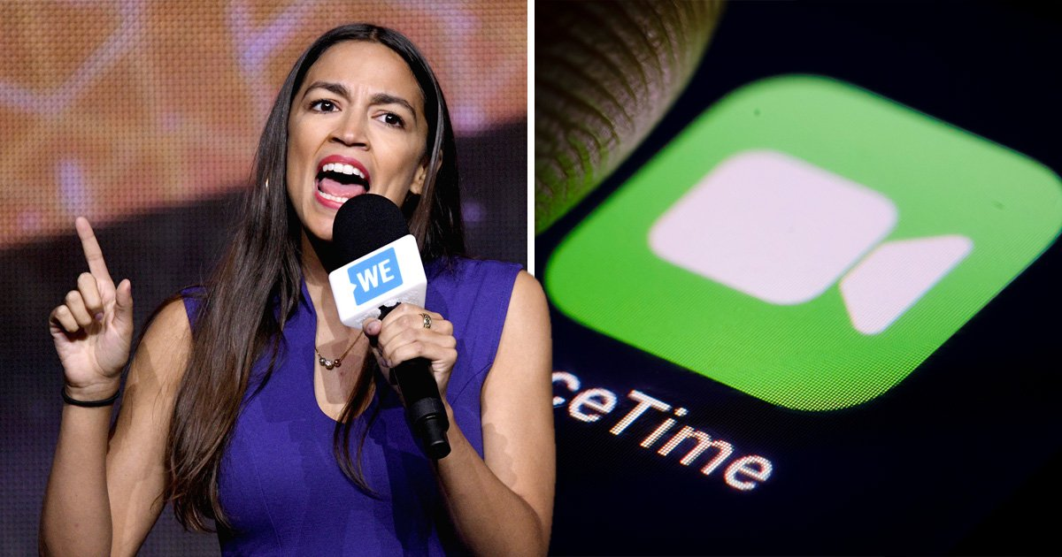 Alexandria Ocasio-Cortez says Apple's FaceTime suffers from 'racial inequity'