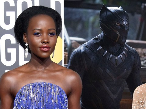 Lupita Nyong'o is literally leaping for joy over Black Panther's historic Oscars nominations