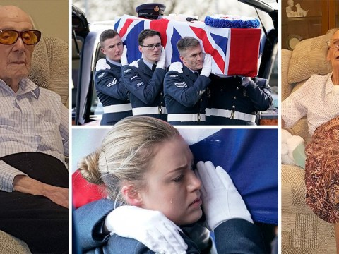 Strangers send off Dambuster engineer and wife as they die with no living relatives