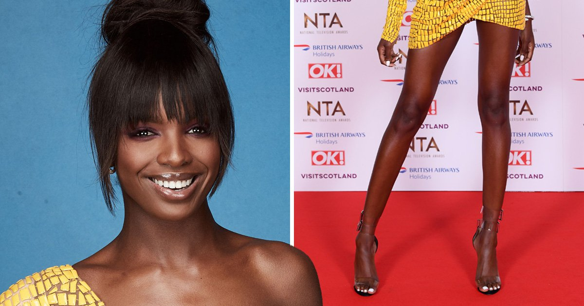 Leomie Anderson asks NTAs audience to applaud her legs and becomes our new hero