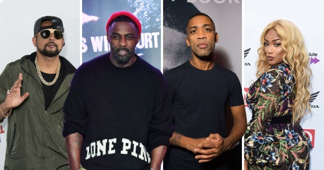 Idris Elba raps on a track with Sean Paul, Wiley and Stefflon Don