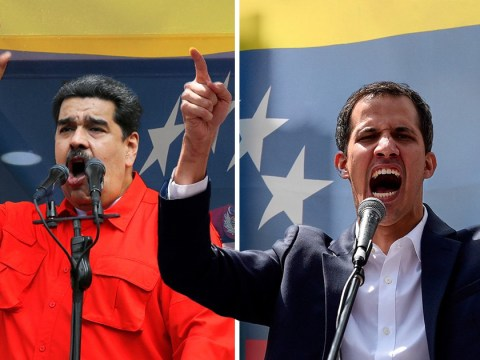 Venezuela descends further into chaos as opposition leader swears himself in