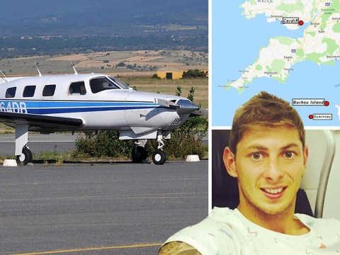 Police search remote Burhou island for Emiliano Sala after 'red flare sightings'