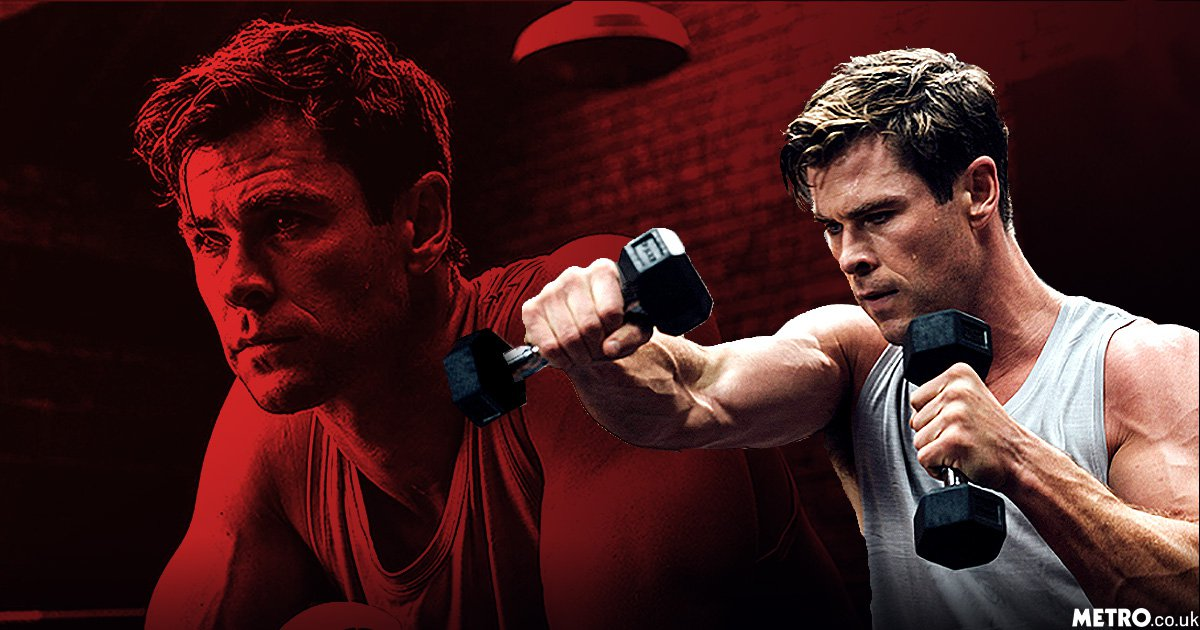 Now we can all look like Chris Hemsworth as he reveals his beast mode secrets