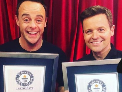Ant and Dec surprised with World Record for most best presenter National Television Awards