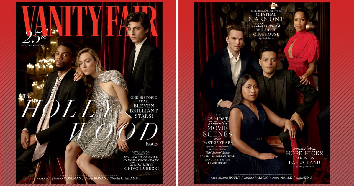Rami Malek, Yalitza Aparicio and Tessa Thompson discuss changes in Hollywood as Vanity Fair celebrates the most diverse cover yet