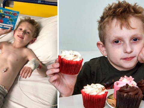 Mum wants to raise £50,000 so her son can eat a cupcake for the first time