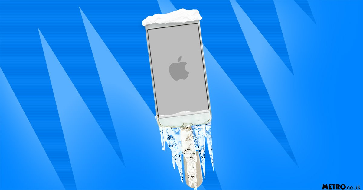 Ice, snow and freezing cold weather can do bad things to your phone – here's how to protect it