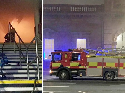 Woman, 34, charged with arson after Nottingham station was set on fire