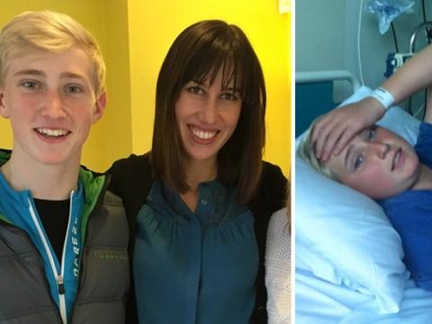 Cancer survivor raises £150,000 'to pay NHS back'