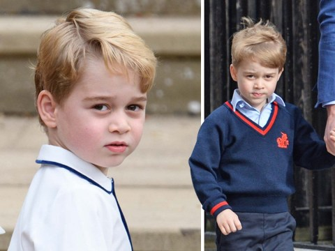 Prince George 'tells dog walker he's actually called Archie'