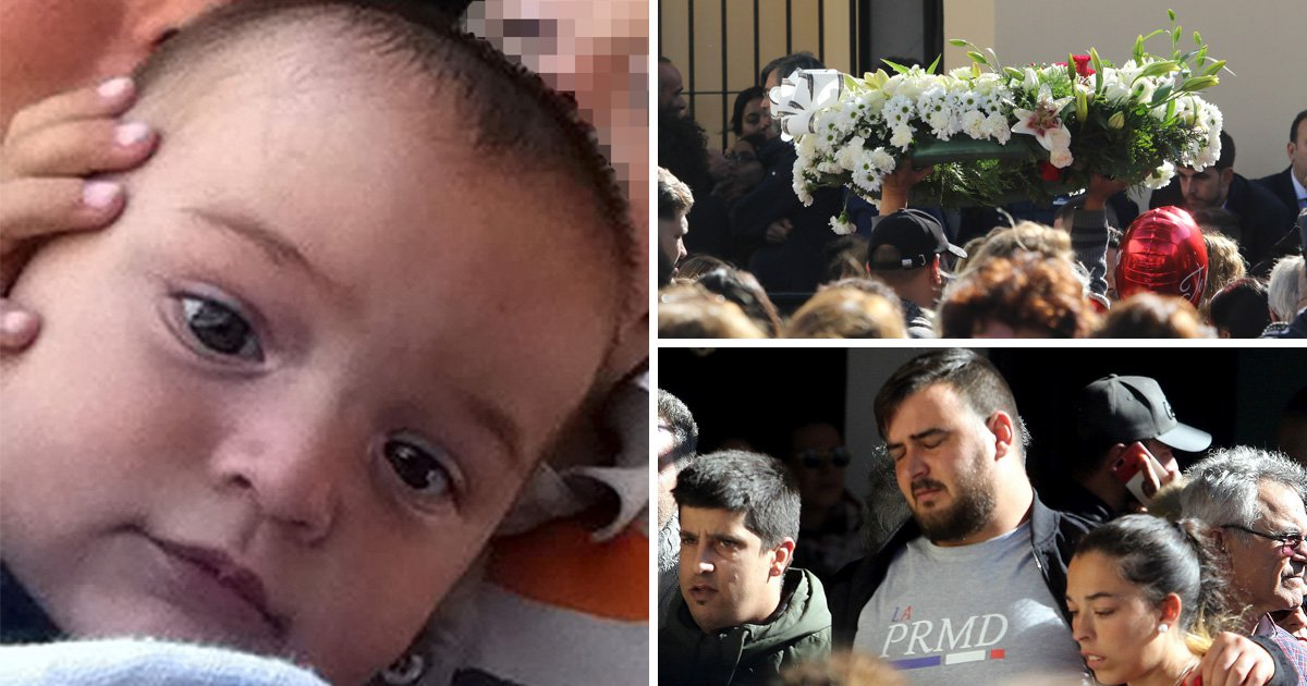Hundreds of mourners attend funeral for toddler who died falling down well