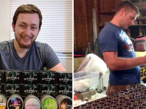 Man makes thousands selling candles that smell like farts and body odour