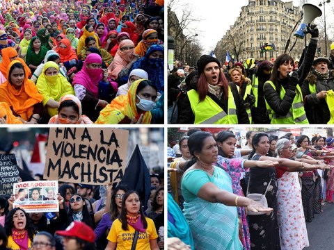 What women around the world have already been protesting for this year