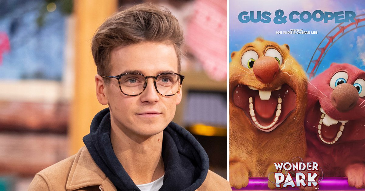 Joe Sugg and Caspar Lee are ultimate friendship goals in new animated Wonder Park pic