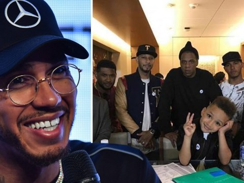 Lewis Hamilton recording music with Jay Z and Kendrick Lamar? Formula One star hangs out with rappers
