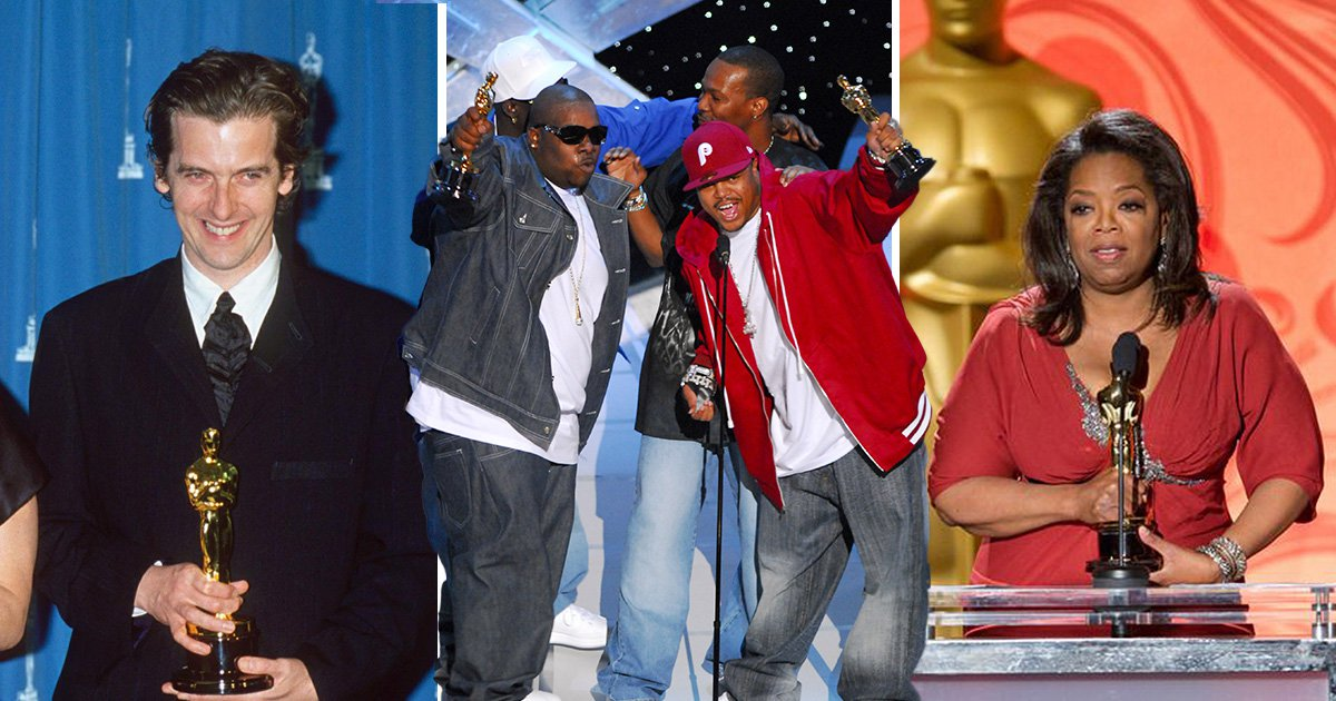 From Peter Capaldi to Three 6 Mafia – the most surprising people to have won an Oscar