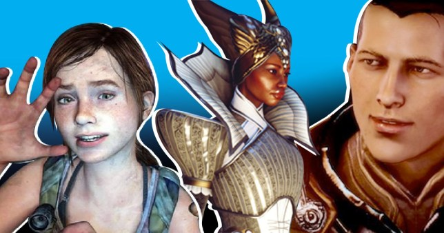 Diverse characters who have appeared in recent video games.