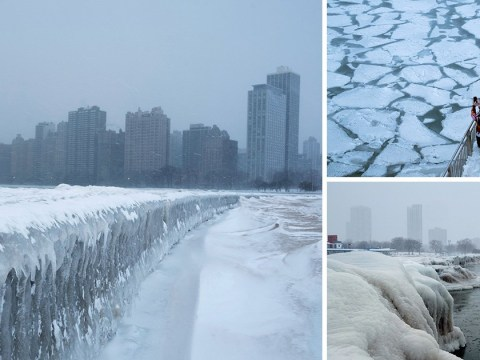 If you think it's cold this morning check out the weather in Chicago