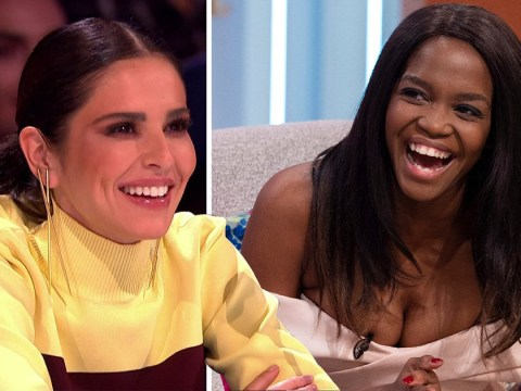 Cheryl jokes 'competitive' Oti Mabuse has been 'stealing acts' on The Greatest Dancer