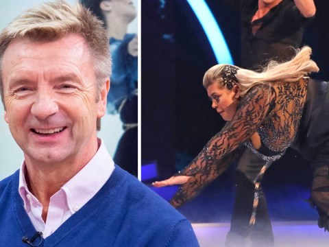 Christopher Dean shows support for Gemma Collins and insists Dancing On Ice fall was 'not deliberate'