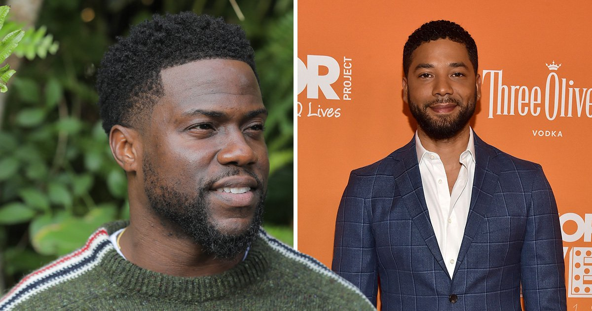 Kevin Hart insists he 'stands with Jussie Smollett' after receiving backlash for sending 'prayers'