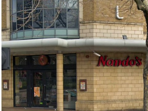 Nando's on lockdown as 'armed man holds woman hostage'
