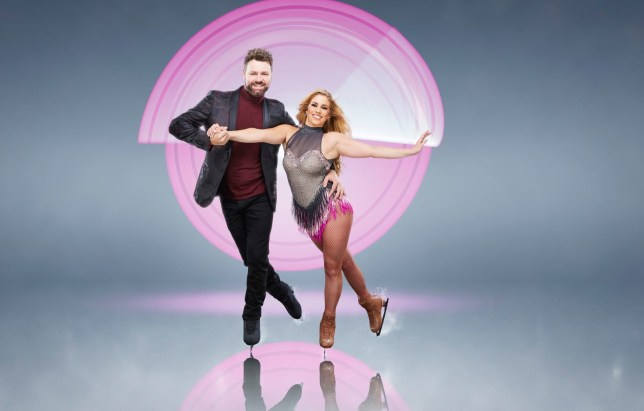 Brian McFadden skating to Westlife song in Dancing On Ice debut