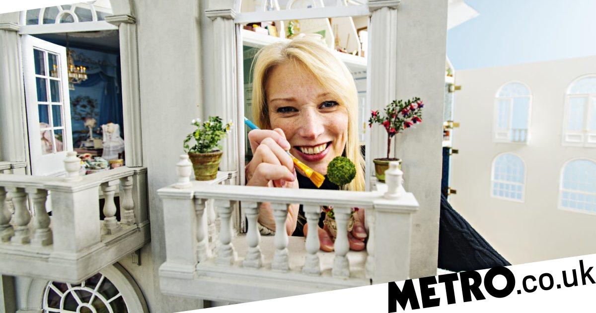 My Odd Job: I'm the world's only doll's house interior designer