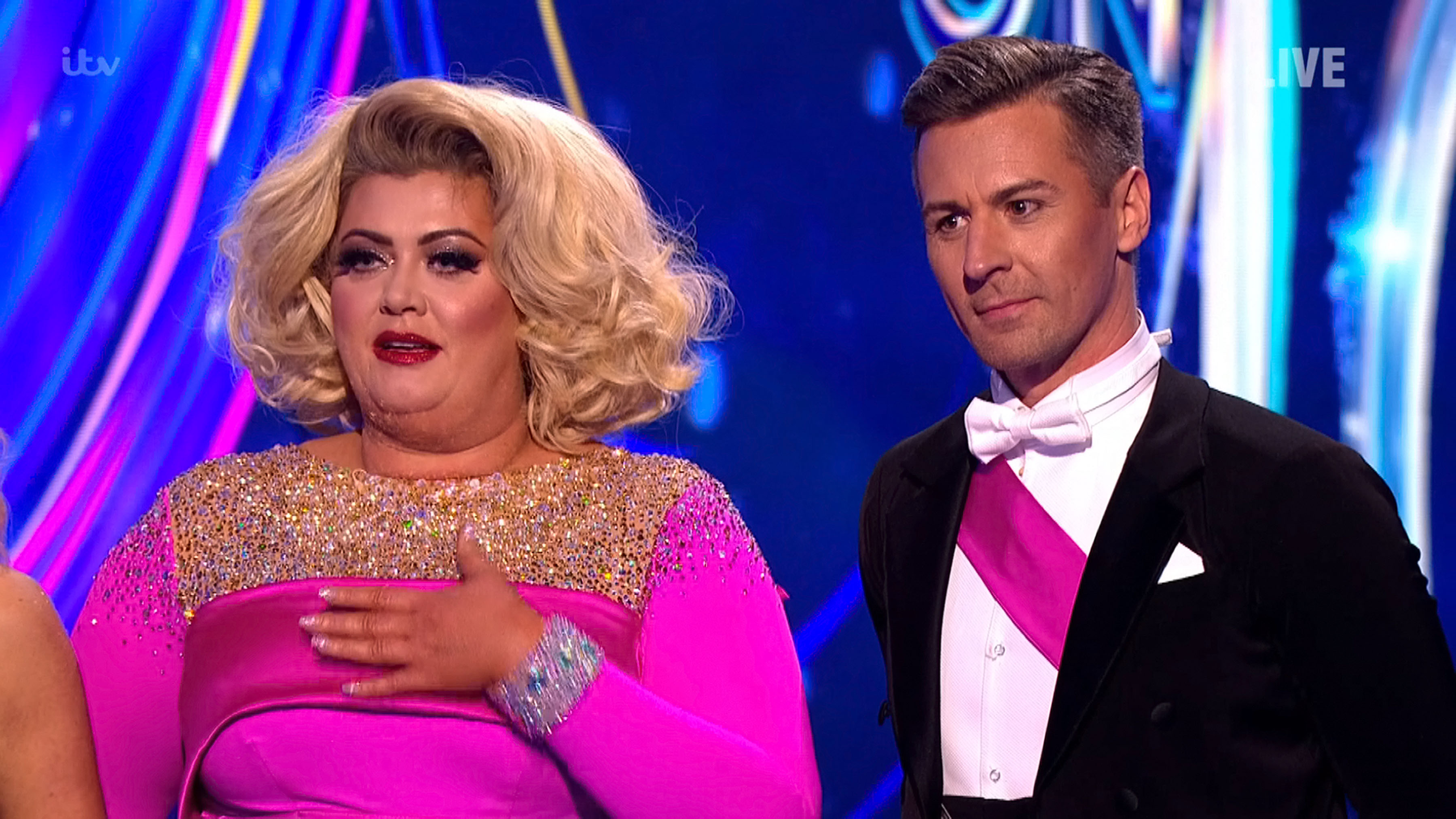 Dancing On Ice's Torvill and Dean reckon it could be 'too little too late' for Gemma Collins amid clash with Jason Gardiner