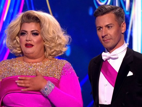 Gemma Collins was threatened with a shovel ahead of Dancing on Ice finale: 'It's very scary'