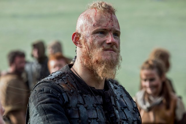 Alexander Ludwig as Bjorn in Vikings (Picture: History)