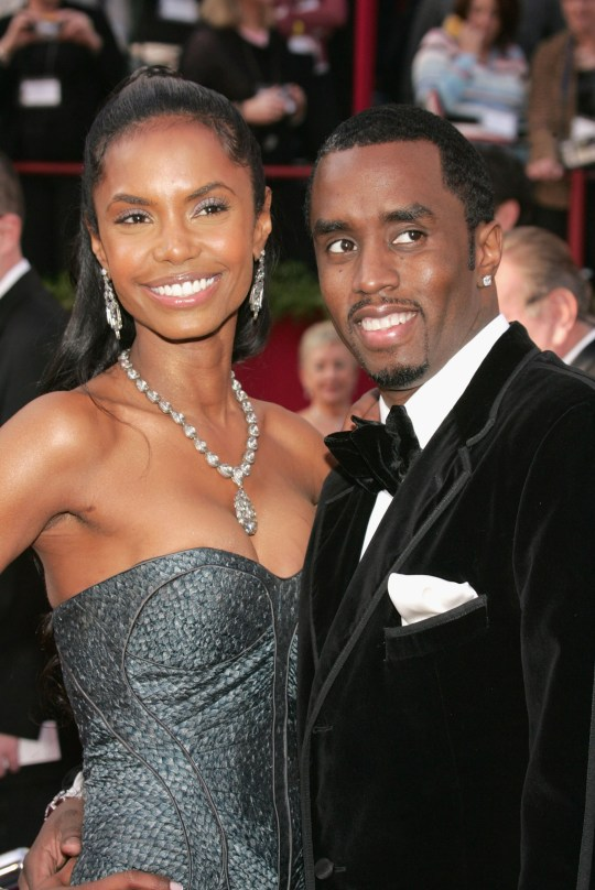 """Kim Porter and Sean """"P Diddy"""" Combs"""