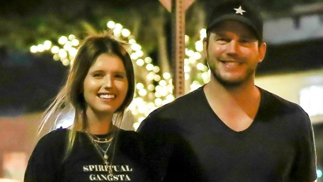 BGUK_1322593 - ** RIGHTS: ONLY UNITED KINGDOM ** Santa Monica, CA - Chris Pratt and Katherine Schwarzenegger are smitten after a date night at R+D Kitchen. The pair look to be in high spirits as they are seen heading back to her home after a quiet dinner with one another. They smile as they stroll on the sidewalk during the mid-week. Pictured: Chris Pratt, Katherine Schwarzenegger BACKGRID UK 29 AUGUST 2018 BYLINE MUST READ: SPOT / BACKGRID UK: +44 208 344 2007 / uksales@backgrid.com USA: +1 310 798 9111 / usasales@backgrid.com *UK Clients - Pictures Containing Children Please Pixelate Face Prior To Publication*