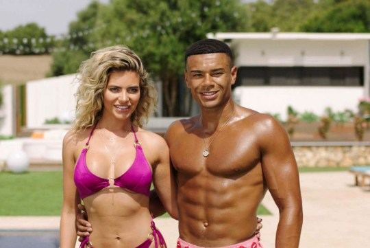 Editorial use only Mandatory Credit: Photo by ITV/REX/Shutterstock (9668299fp) Megan Barton Hanson and Wes Nelson 'Love Island' TV Show, Series 4, Majorca, Spain - 2018
