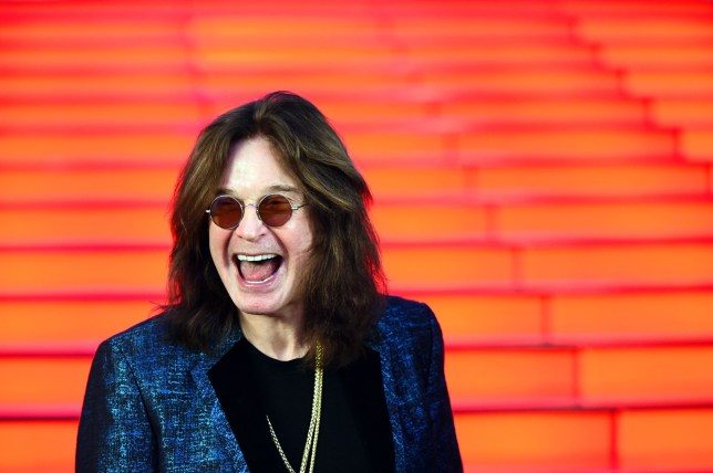 OZZY OSBOURNE - Mandatory Credit: Photo by Persona Stars/REX/Shutterstock (9698432m) Ozzy Osbourne Ozzy Osbourne gets star of fame at 'Vegas Crocus city' shopping mall, Moscow, Russia - 31 May 2018