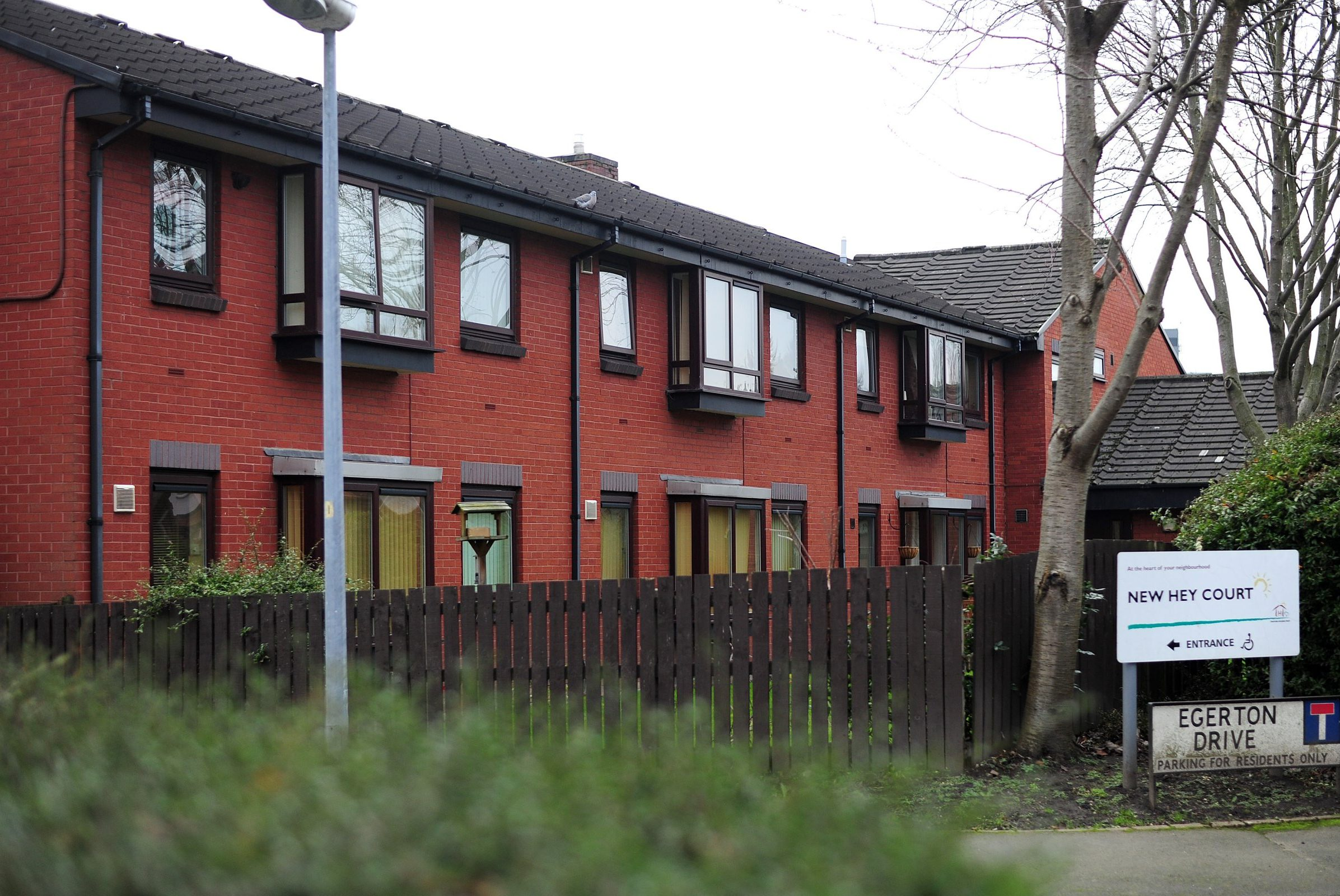 An elderly man has died after an attack at a sheltered housing complex on Christmas Day. Graham Liddle, 79, passed away in hospital on December 28, three days after he was assaulted at the home on Sale, Greater Manchester. Caption: New Hey Court sheltered housing complex on Egerton Drive in Sale, Greater Manchester, where a man was attacked on Christmas Day and died of his injuries on December 28, 2018