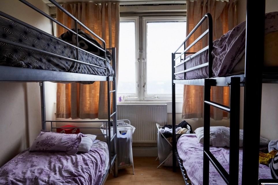Katie Wilson, Bedrooms of London-Nadine, Crystal, Peter & Simone, 2017