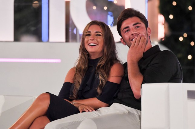 Editorial use only Mandatory Credit: Photo by James Gourley/ITV/REX/Shutterstock (9773969el) Dani Dyer and Jack Fincham 'Love Island' TV Show, Series 4, Episode 57, The Final, Majorca, Spain - 30 Jul 2018