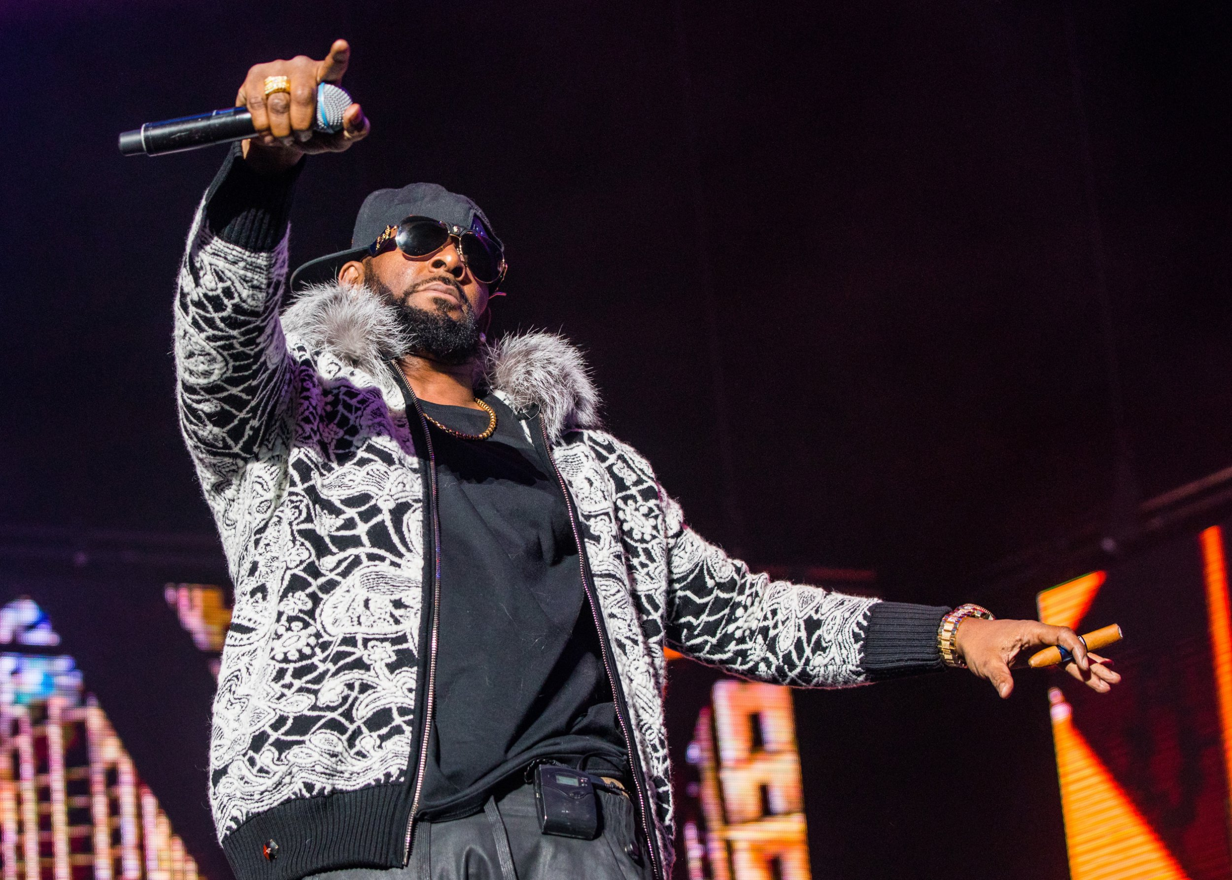 Facebook removes page dedicated to discrediting R Kelly's 'sex slave' accusers as criminal investigation is launched