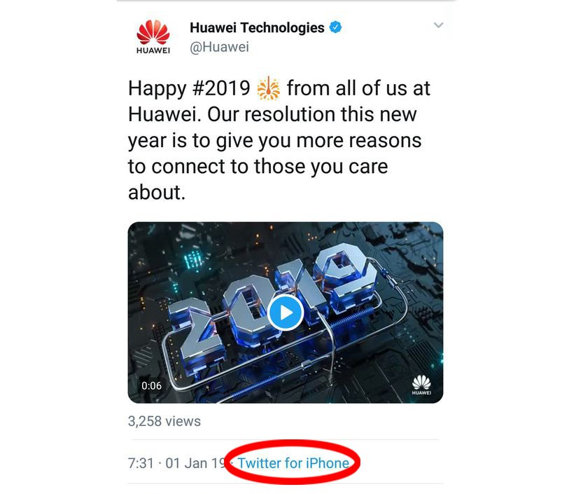 Picture: Metro Grab Huawei demotes two employees and cuts their pay after tweeting from iPhone