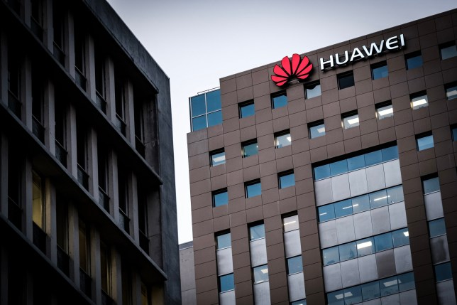 AUCKLAND, NEW ZEALAND - 2018/12/17: Logo of Chinese technology firm Huawei seen in Auckland, New Zealand. (Photo by Hendrik Osula/SOPA Images/LightRocket via Getty Images)