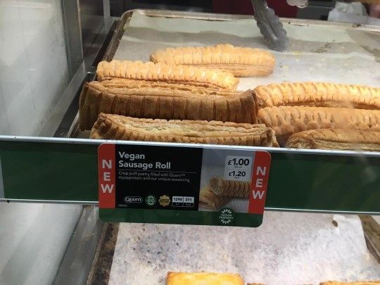 A Greggs store in Cardiff was left unable to sell any vegan sausage rolls on the day the new menu item launched because staff didn't have the right equipment to pick them up. The shop on Cowbridge Road East, Canton, couldn't serve the new product on Thursday, January 3, because they weren't given the correct tongs to serve them with. Caption: Greggs' new vegan sausage roll
