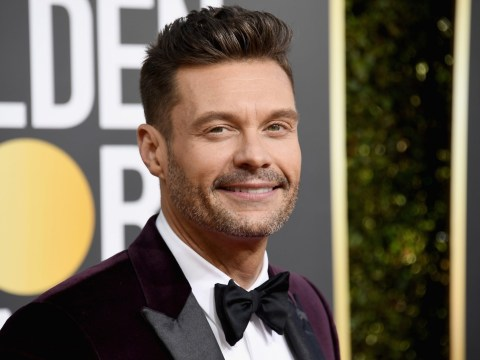 Golden Globes 2019: Ryan Seacrest slammed as he wears Time's Up bracelet